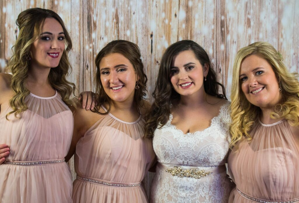 Photo Booth - Meet the bridesmaids