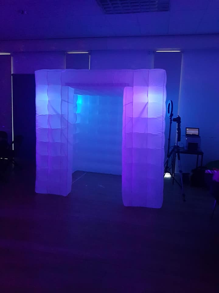 Our LED Photo Booth!